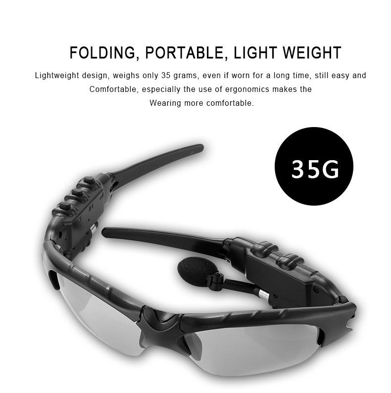 Óculos inteligente v4.1 Bluetooth 4 Cores para óculos de sol fone de ouvido  esportivo de vidro leitor MP3 Fones de ouvido sem fio de telefone Bluetooth  ... dc3dc7641f