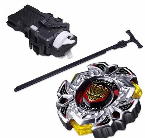 A fusão de metais Japonês Beyblade Tomy Bb114 Sistema 4D Variares girando os brinquedos clássicos Superior + Iniciador de Luz