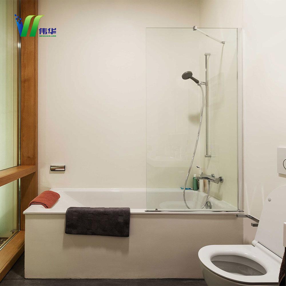Vitre Salle De Bain stratifiés pour salle de bains en verre trempé de vitre de