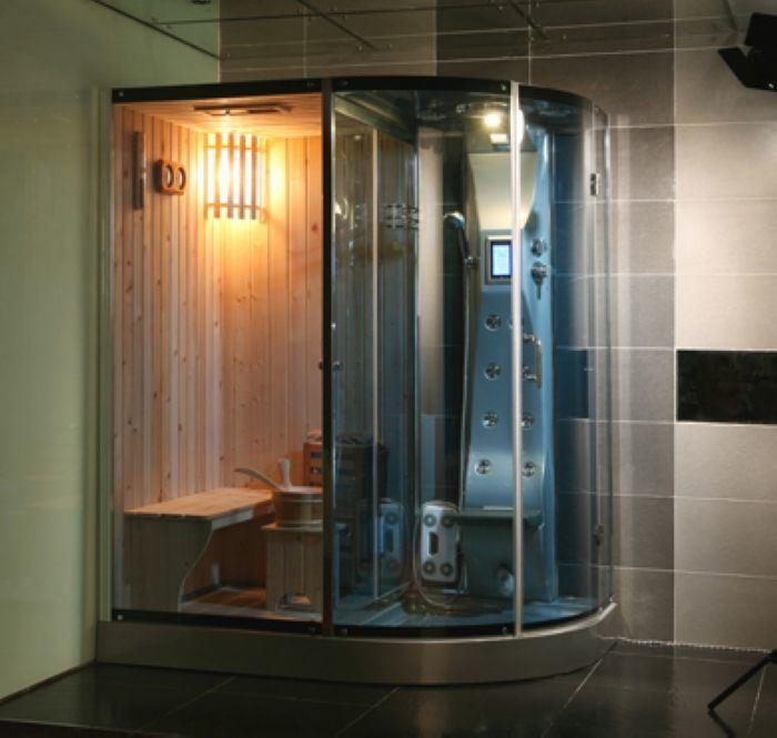 木製の蒸気のサウナ部屋(HE2Q120R)