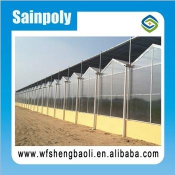 Serra dello strato del PC di Sainpoly di prezzi di fabbrica per la crescita della patata