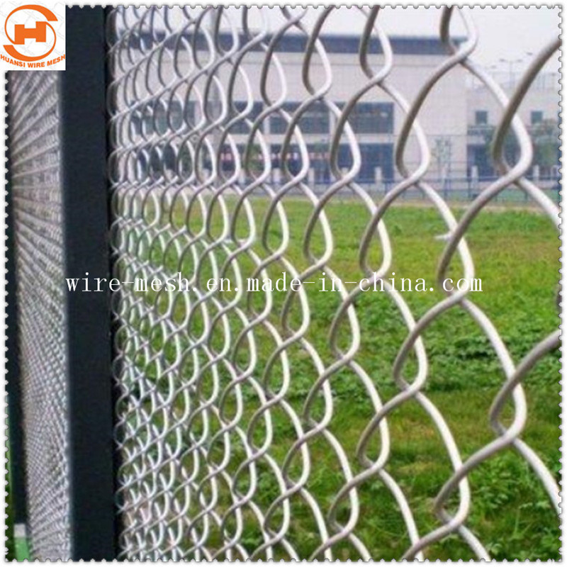 L\'acier galvanisé/jardin revêtus de PVC Clôture/fil diamanté ...