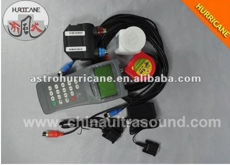液体流量測定用の携帯型超音波水流量計