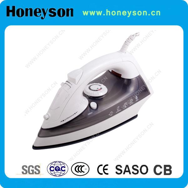 Honeyson Mini-fer à vapeur électrique pour les clients de l'hôtel Repassage des vêtements