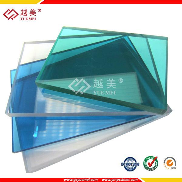 Поликарбонат сплошной лист тиснение панели строительные материалы (PC-YM-005)