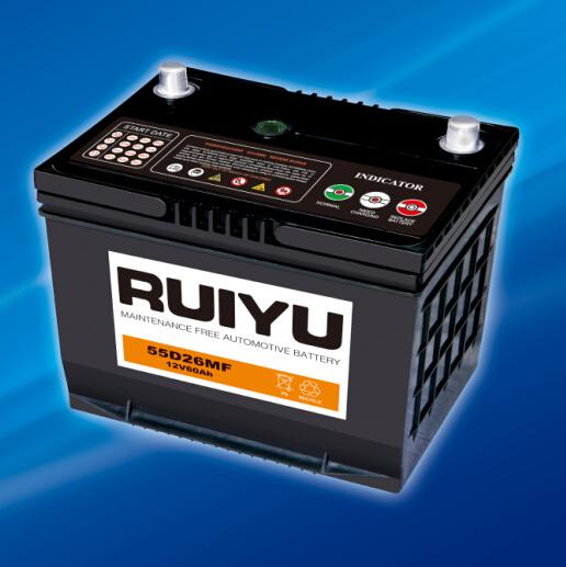 12V 60Ah selladas de plomo ácido libre de mantenimiento de la batería de automoción