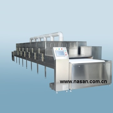 Nasan サプライヤマイクロ波ペーパーパイプ乾燥装置