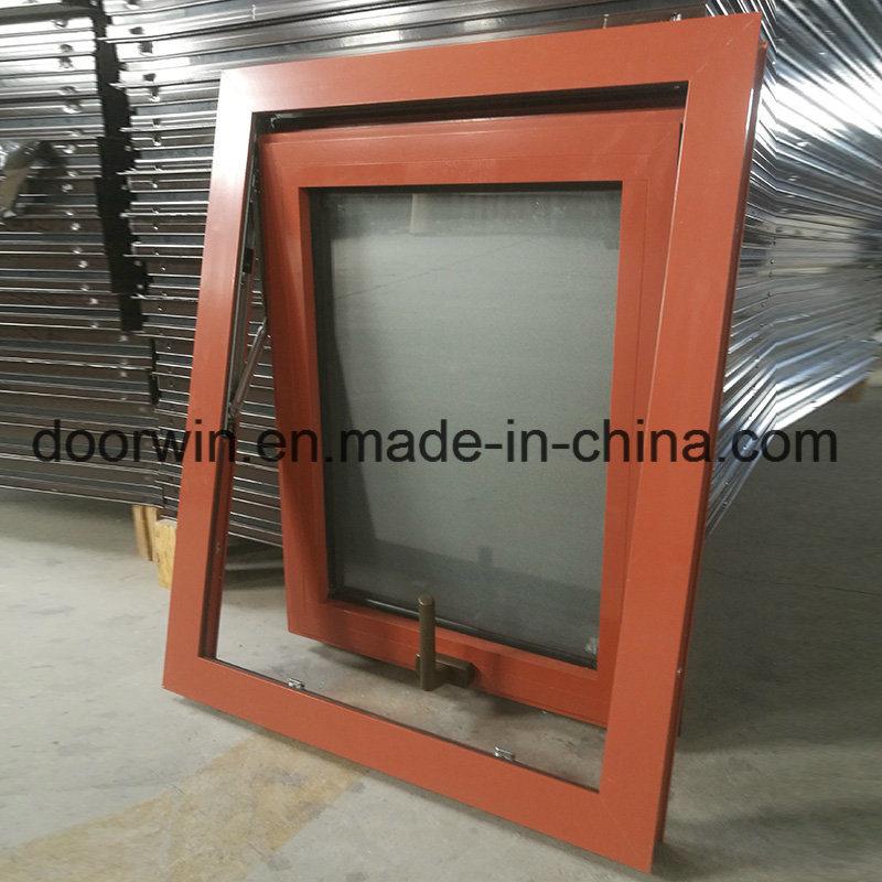 Foto de Color rojo, marcos de ventanas de aluminio con cristal ...
