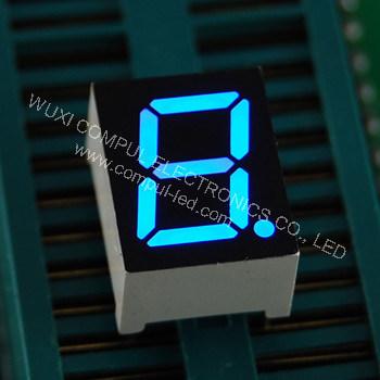 """O Display digital LED03911 CPS, 0,39"""" tela azul de 7 segmentos"""