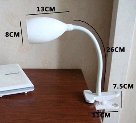 Мини-силикон Clip настольный светильник