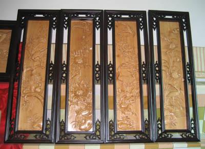 Woodcarving muurdecoratie (G005)
