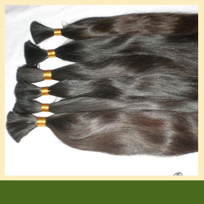 30-дюймовый Virgin бразильского человеческого волоса расширений основную часть волос