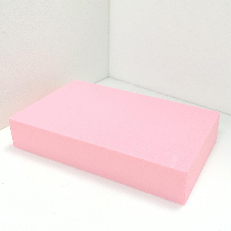 Fuda em poliestireno extrudido (XPS) Placa de espuma de grau B1 400kpa rosa 25mm de espessura