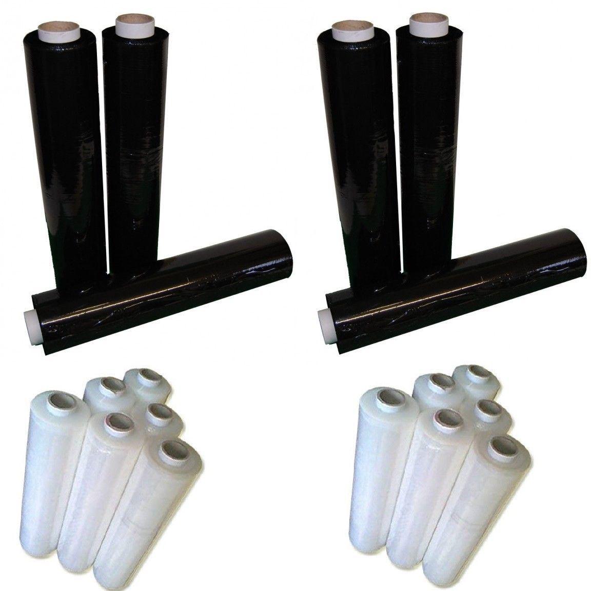 Freier und schwarzer Ladeplatten-Verpackungs-Form-Ausdehnungs-Hochleistungsfilm 500mm*300m*23mu