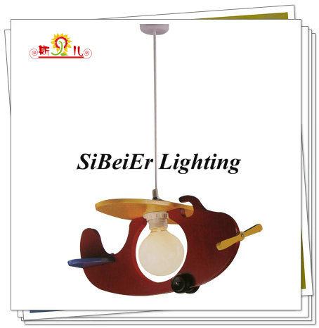 Poignée de commande d'enfants de la conception de l'avion lampe (SP5429-1)