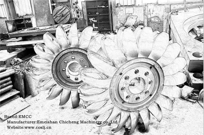 La turbine d'impulsion