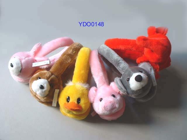 Os brinquedos de pelúcia
