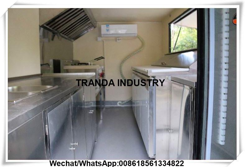 Foto de Alimento que cocina el coche del acoplado de la cocina del ...
