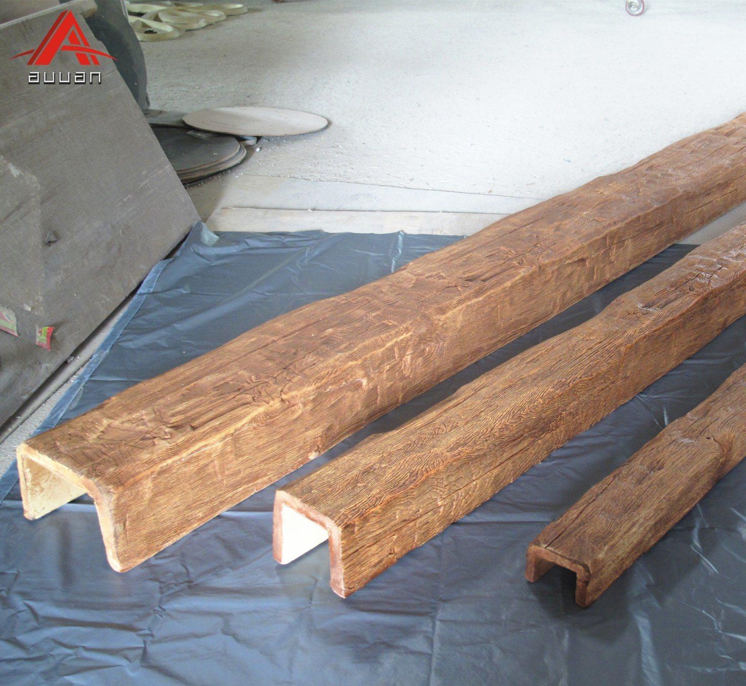 Chine Poids Léger En Polyuréthane Imitation Bois H Beam