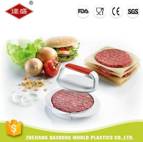 비 아마존 BBQ를 위한 최신 제품 햄버거 압박 햄버거 제작자 압박 지팡이 작은 파이 형 이상