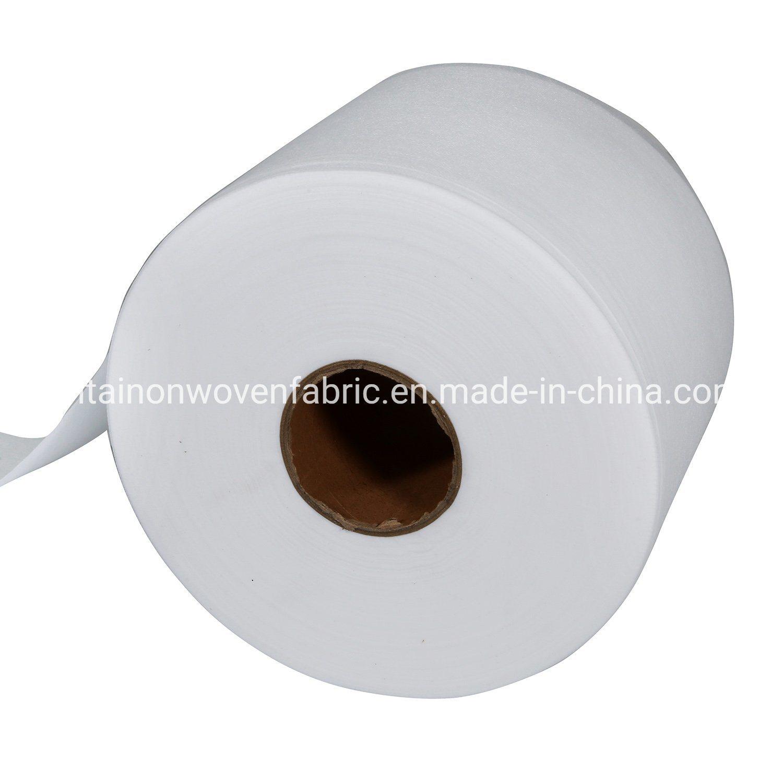 100% Natural biodegradabile Spunbond tessuto non tessuto materiale maschera