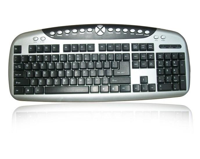 コンピュータのためのマルチメディアのキーボード