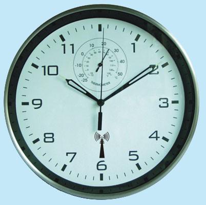 Controlado por Radio Reloj de pared (FB10AR)