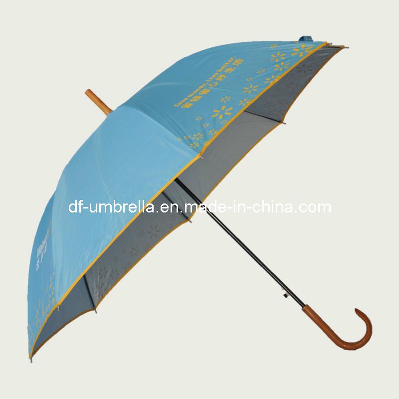 Wal-Mart recto promocionales Paraguas, Bastón Sombrilla, paraguas de ...