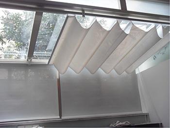 het gemotoriseerde gordijn van het plafond het gemotoriseerde gordijn van het plafonddoorshenzhen century technology co ltd voor nederland