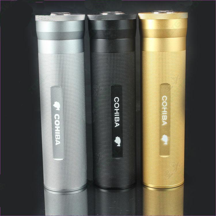 Supporto del tubo del sigaro di Cohiba fornito di Tabella di umidità & di Humidor (ES-CA-013)