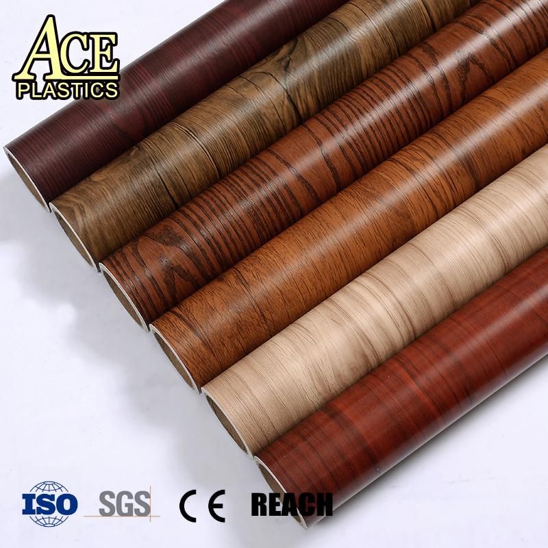 Pvc Aluminium De Texture De Bois Pour Le Mdf Presse Vide 1400mm