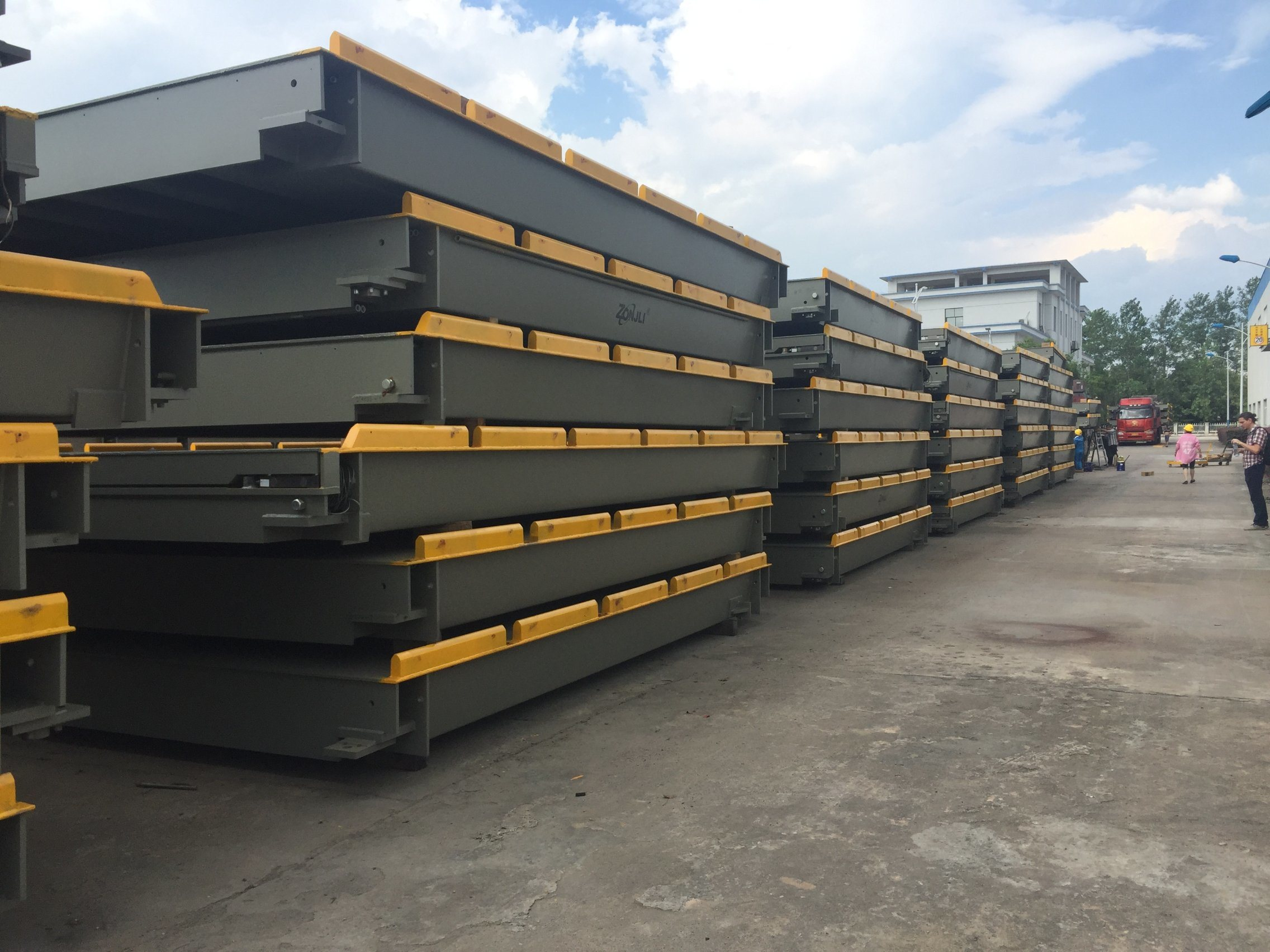 重い車軸ロードOEMおよびODMの橋ばかりのトラックのスケールの産業重量を量るスケール