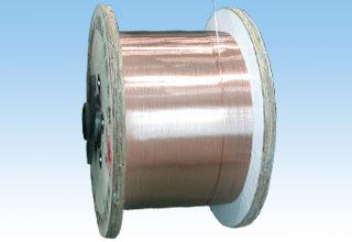 Draad van het Aluminium van het koper de Beklede (Grote Specificatie)