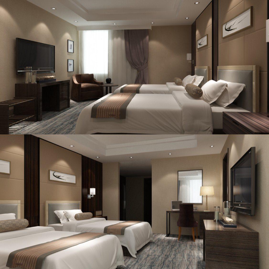 Mobilia dell\'hotel/doppia mobilia di lusso della camera da letto ...