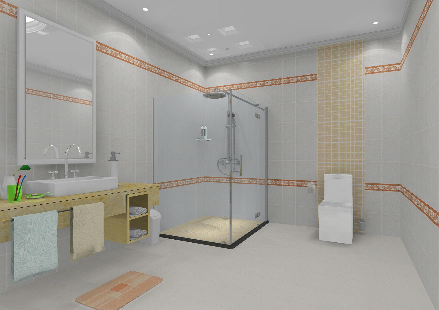 Foto de Cocina y cuarto de baño baldosas de pared de ...