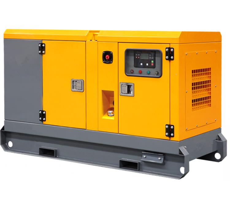 発電機30 Kw小さいGensetの無声ディーゼル発電機