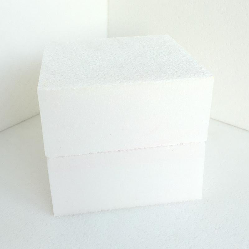 Длина Fuda полистирол (XPS) из пеноматериала платы B3 класса 1000КПА белого цвета толщиной 45 мм