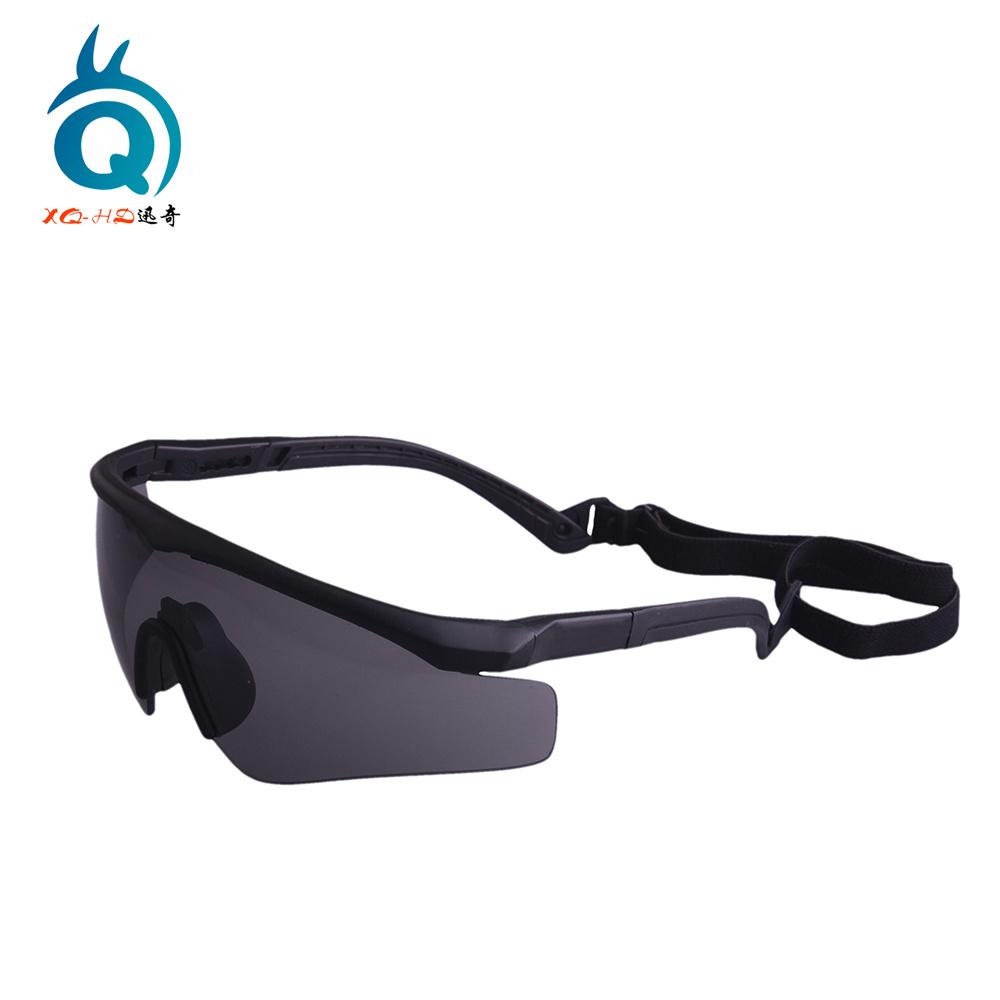 Airsoft, Paintball, tir, des lunettes de sécurité militaire avec châssis TPU (XQ110)