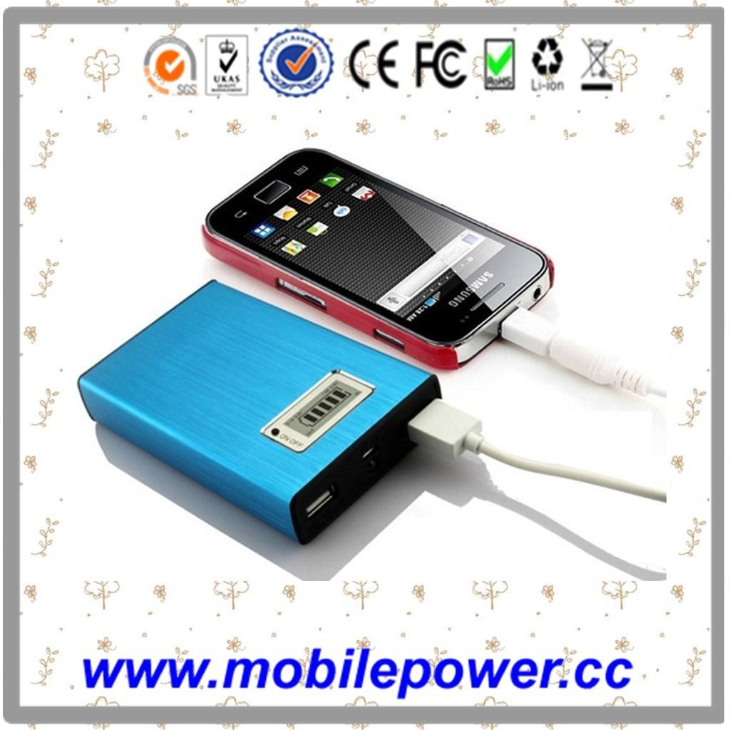 6000mAh Carregador Universal Mobile para smartphones, Laptop