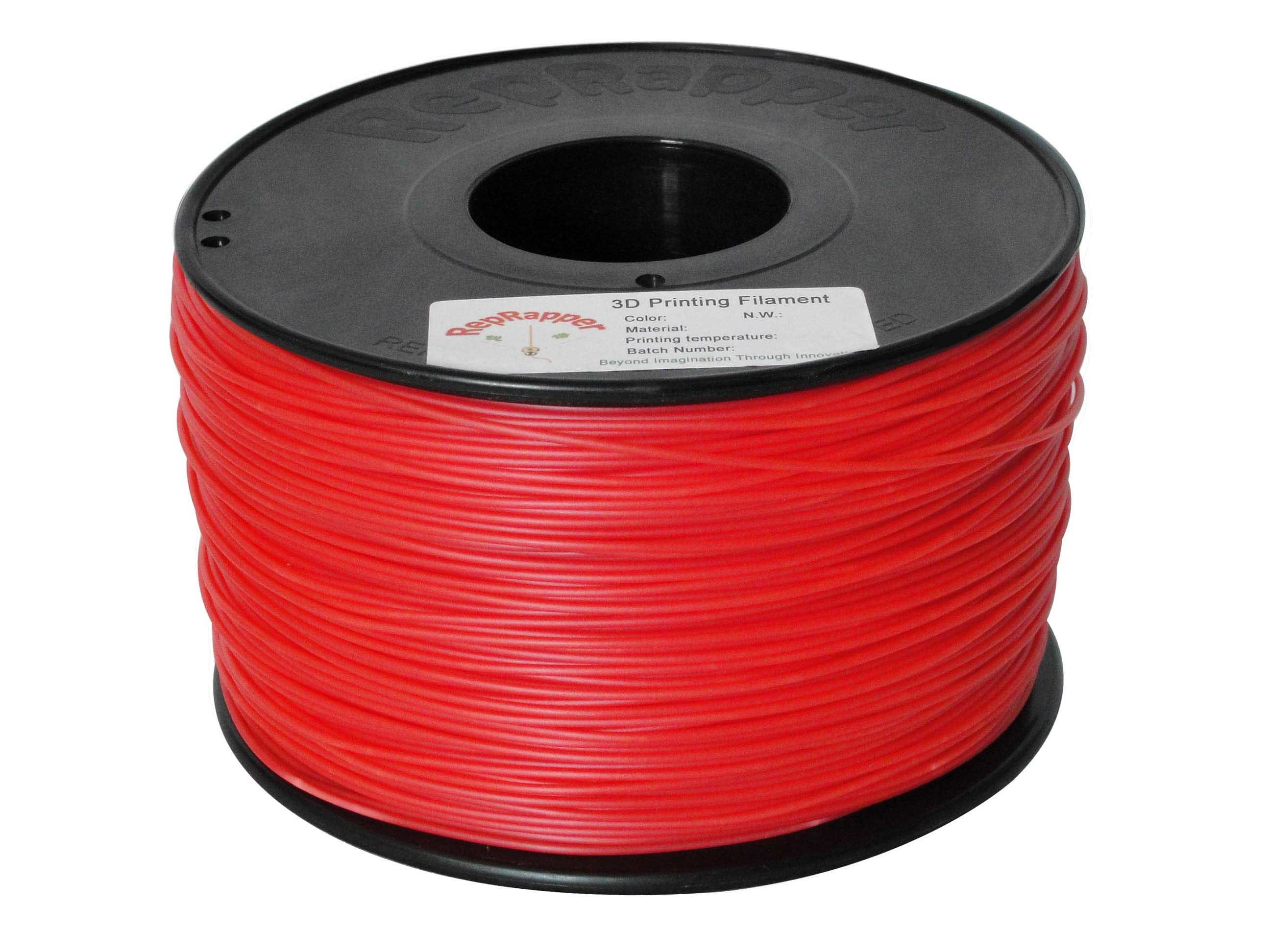 HIPS 3.0mm Red 3D Printing Filament