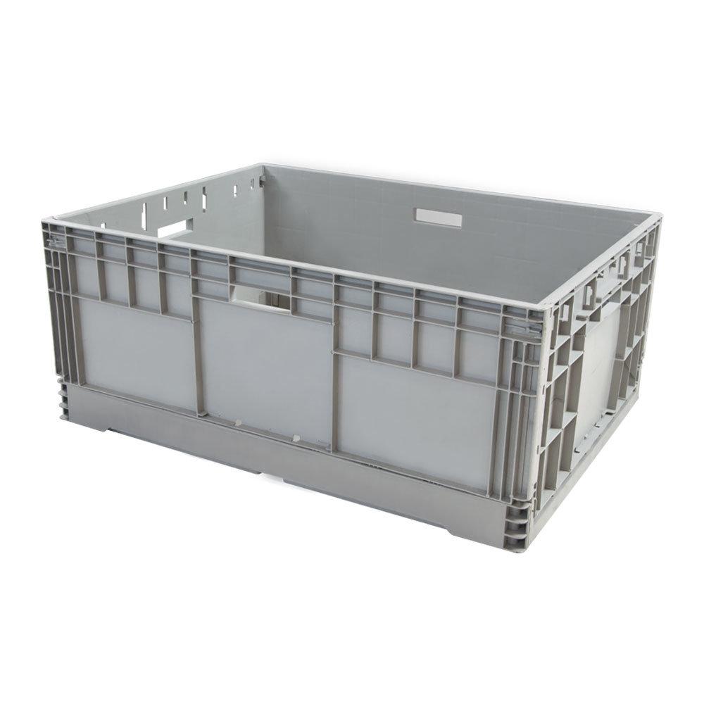 Plegables cajas de plástico de alta calidad para el transporte