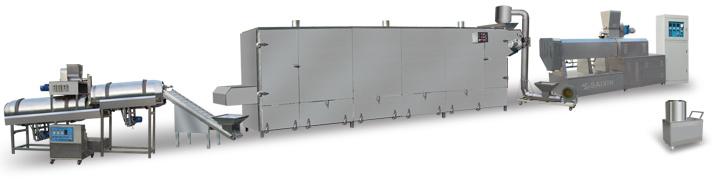 뜨 물고기 공급 생산 라인 (DL65-II)