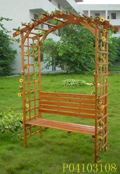 Arco de jardim
