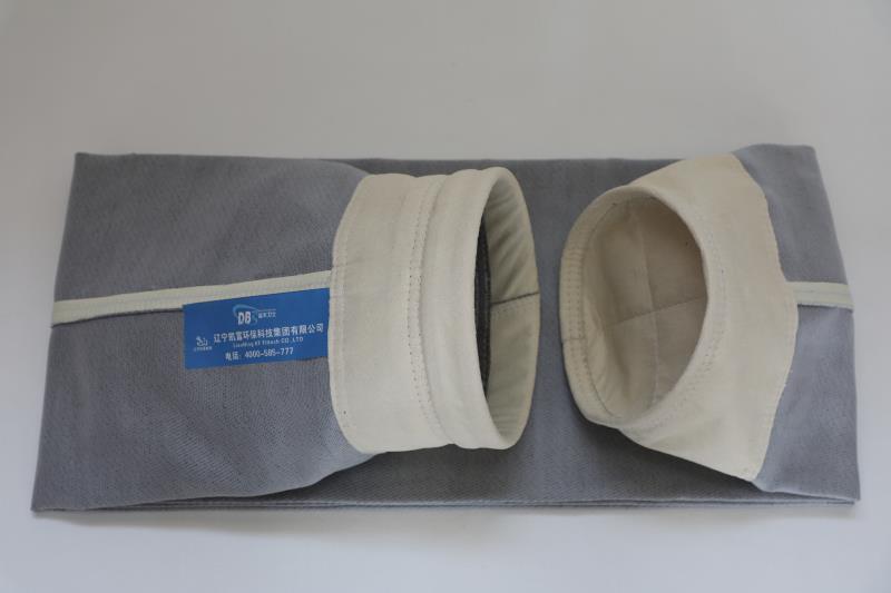 Sacchetto filtro della fibra del Fluorosilicone di alta qualità Fiberglass+PTFE