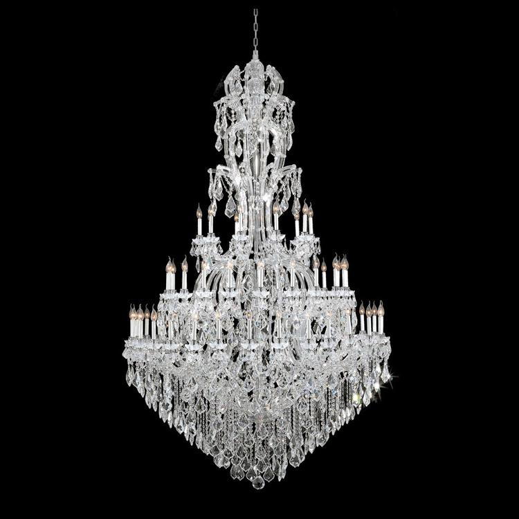 Lampadario a bracci a cristallo di vetro della decorazione del ferro di lusso moderno di illuminazione