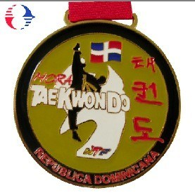 Medalla de esmalte