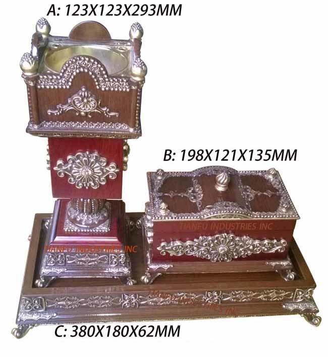 عربيّ إسلاميّة جيّدة يبيع مربّعة أشكال [بروون] لون [هيغقوليتي] [إينسنس بورنر] خشبيّة لأنّ زخرفة بينيّة