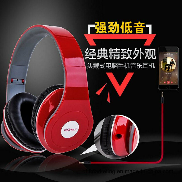 Fone de ouvido com isolamento de ruído para graves profundos auriculares auscultadores HiFi estéreo para Smartphones