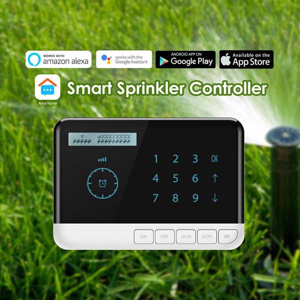 Forrinx SH07 APP水弁のタイマー制御Alexa Googleのホーム声制御WiFiのスプリンクラーのコントローラ