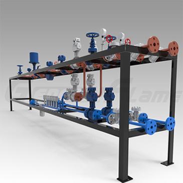 Sistema liquido del treno di valvola del petrolio e del combustibile del Sistema-Combustibile di consegna del combustibile